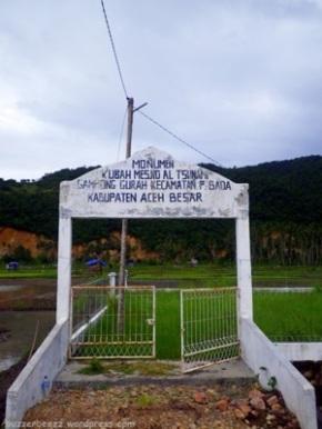 Pintu Gerbang Kubah Masjid Al Tsunami