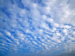 Awan berarak di langit Banda Aceh