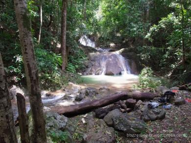 Air Terjun Kuta Malaka, Samahani
