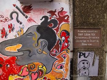 Grafiti di Jalan Braga, Bandung