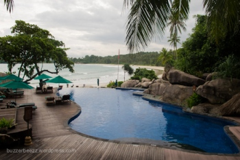 Pool di Banyan Tree Resort, Lagoi, Bintan