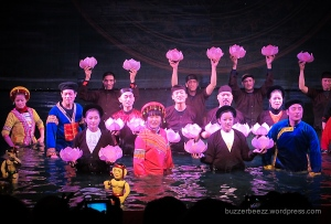 Para dalang Water Puppet