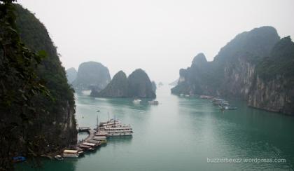 View dari Sung Sot Cave