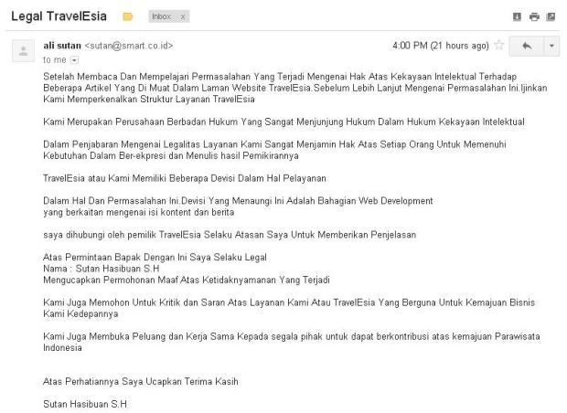 Email TravelEsia