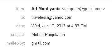 Email TravelEsia5