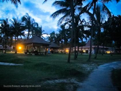 Bintan Lagoon menjelang senja