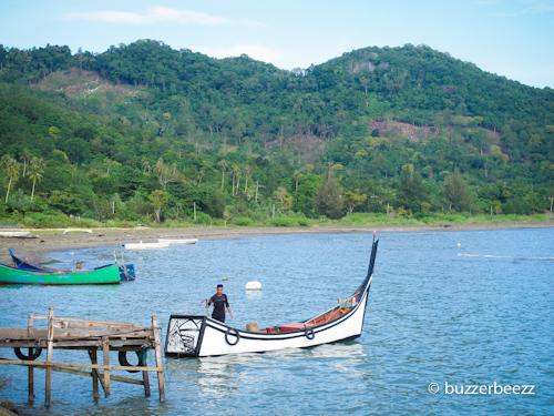 Aktivitas pagi nelayan