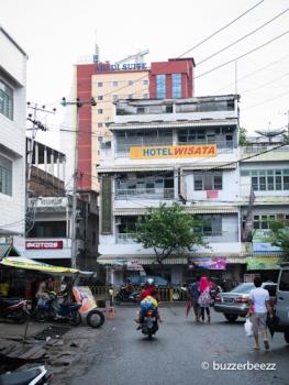 Hotel Wisata, tempat kami menginap