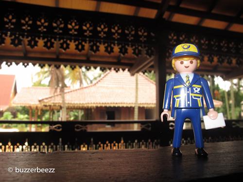 Di anjungan Bengkulu