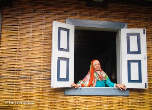 Jendela rumah Bung Hatta