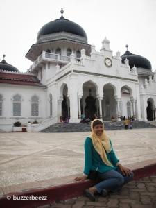 Di Masjid Raya Baiturrahman