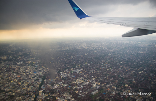 Kalau ini di langit kota Medan.