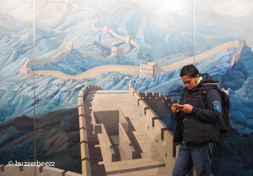 Turun dari pesawat langsung sampai ke Great Wall