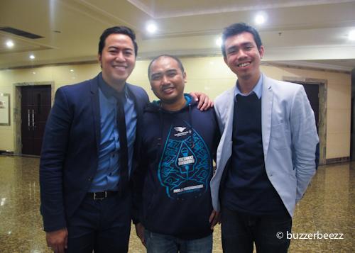 Bareng komika ternama Indonesia, Pandji dan Krisna