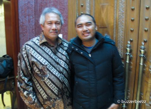 Foto bareng Pak Sugeng Rahardjo, Dubes RI untuk Tiongkok