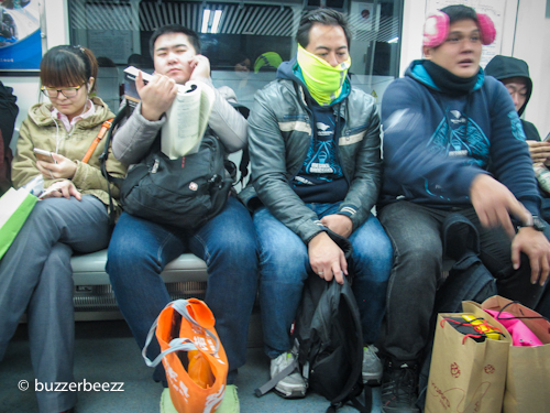 Di dalam subway