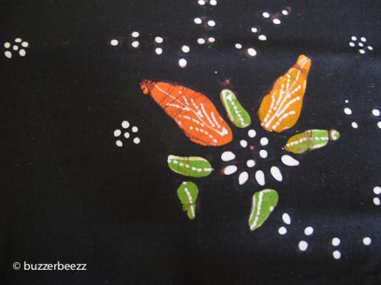 Motif Batik Bakaran yang saya bagikan sebagai giveaway