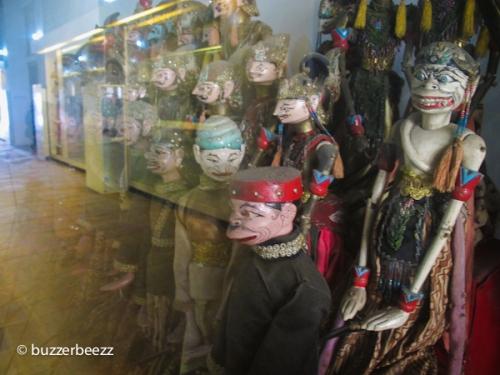 Koleksi Wayang Golek Museum Wayang