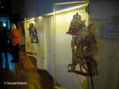 Wayang kulit koleksi Museum Wayang