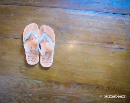 Sandal ini sumber masalahnya
