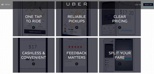 Kelebihan aplikasi uber