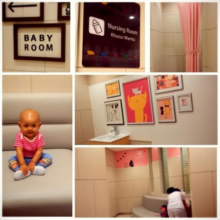 Nursery room AEON Mall yang keren banget