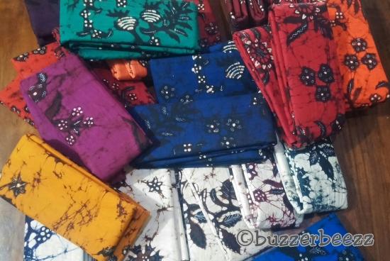 Warna-warni Batik Bakaran modern