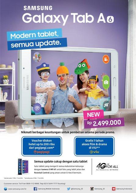 Flyer Samsung Galaxy Tab A
