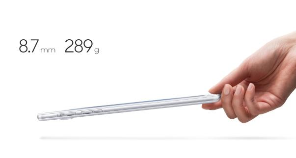 Samsung Galaxy Tab A - tipis dan ringan