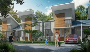 Rumah Type RE Citra Maja Raya