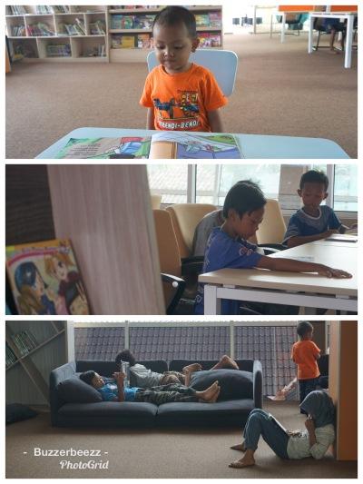 Ruang Baca Anak Perpustakaan Saija Adinda